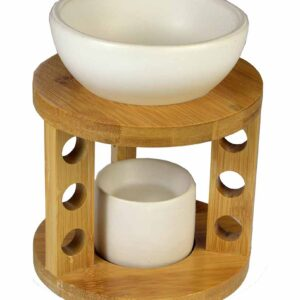 Oil Burner Ceramic Wooden
