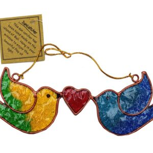 Suncatcher Flying Love Birds