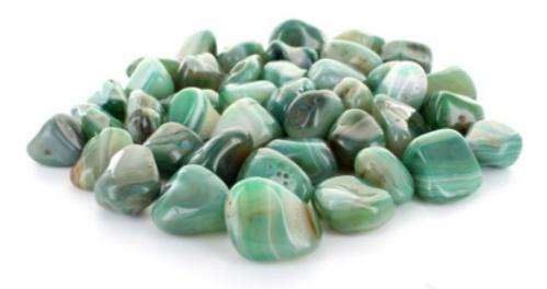 Crystal Tumblestone Banded Agate