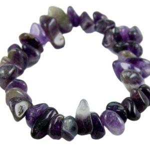 Stone Chip Bracelet Amethyst